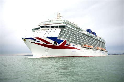 Ballard Designs Christmas p amp o cruises takes delivery of britannia