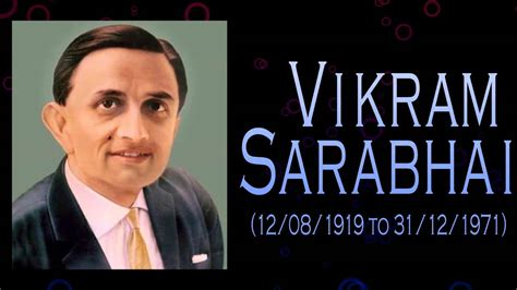 biography of vikram sarabhai vikram sarabhai biography father of the indian space
