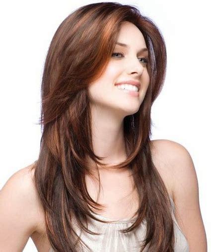 gambar model rambut panjang  wanita gemuk