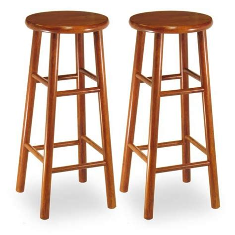 Solid Cherry Bar Stools by Miraculous Solid Cherry Wood Bar Stools Bellacor In