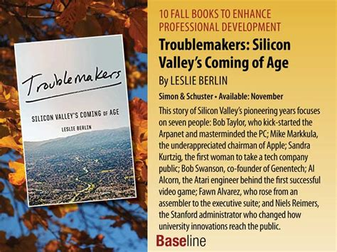 Troublemakers Silicon Valley S Coming Of Age books that can enhance your career development