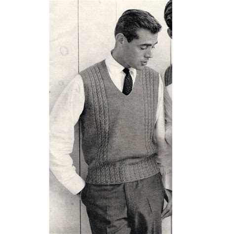 knitting pattern mens sleeveless vest mens sweater vest knitting pattern this is a pullover