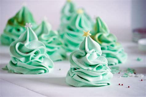 christmas tree meringues crumbs and corkscrews