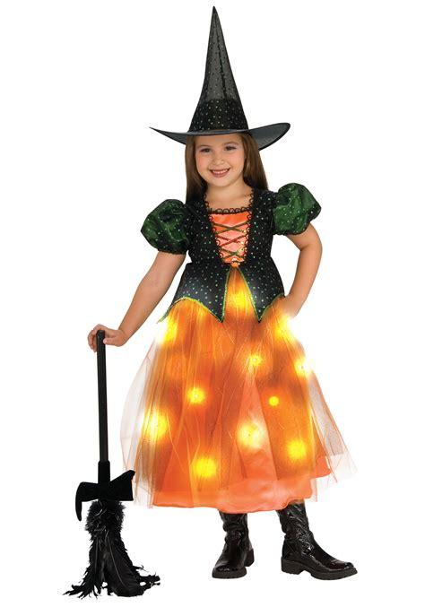 Girls Twinkling Witch Costume Light Up Witch Costumes Light Up Costume