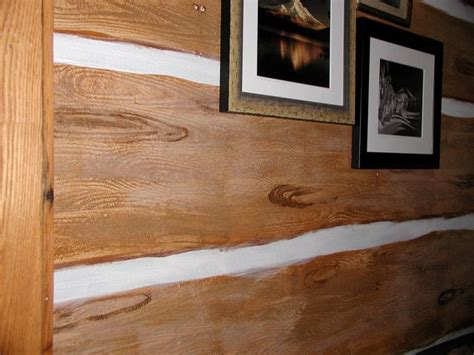 Faux Log Cabin Walls by Cleaning Interior Log Cabin Walls Myideasbedroom