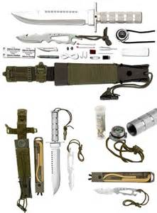 survival knives with kit best 25 survival knife ideas on