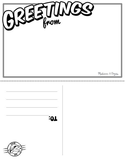 Post Card Print Template by Printable Postcards Template Beneficialholdings Info