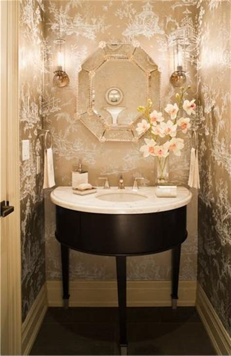beautiful powder rooms beautiful powder room decorating ideas pinterest