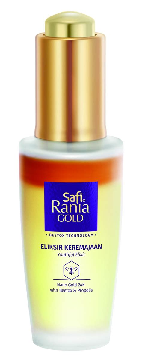 Scrub Safi Rania Gold bingkisan emas sang ratu lebah persembahan terbaru safi