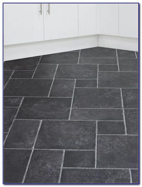 Black Porcelain Slate Effect Floor Tiles   Flooring : Home