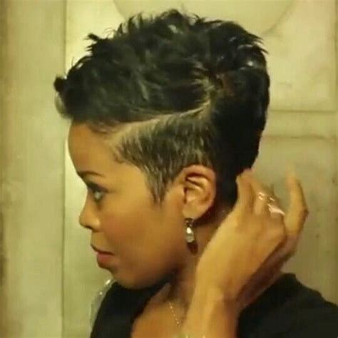short hair styles worn by malinda williams malinda williams mane taming tutorial 11 malinda