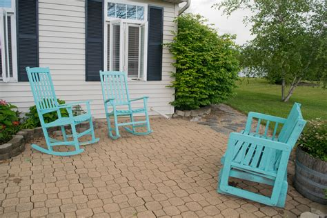 Outdoor Living And Garden Home Tour Our House Now A Home Teal Outdoor Furniture