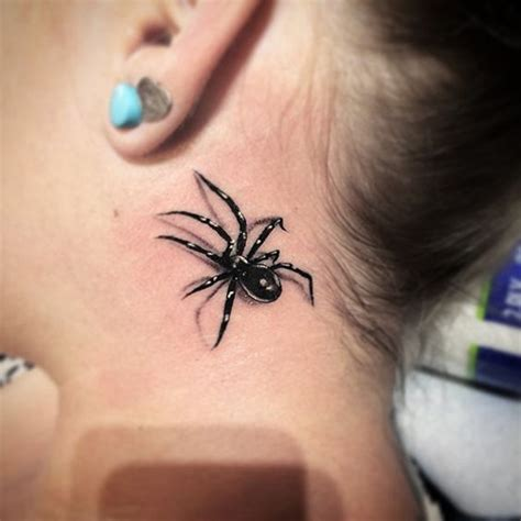 spider tattoo behind ear meaning crazy spider tattoo ideas best tattoos for 2018 ideas