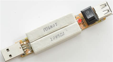 output load resistor test review of usb load resistor 1a 2a usb output discharger3 2xwhite resistor
