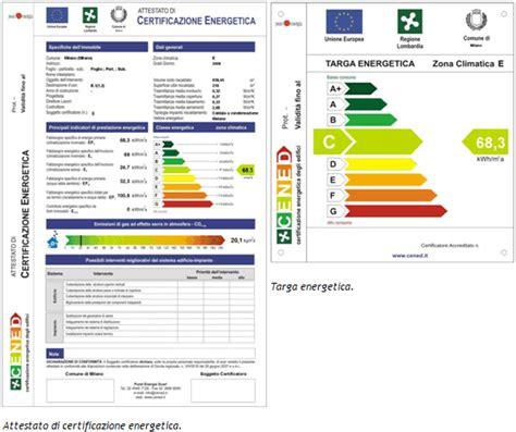 classificazione energetica casa certificazione energetica idee green