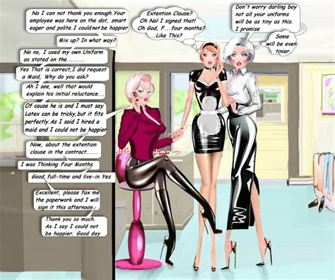 sissy maid contract the mix up mistake by andylatex on deviantart