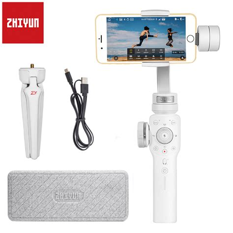 aliexpress buy zhiyun smooth 4 3 axis handheld gimbal portable stabilizer smartphone for