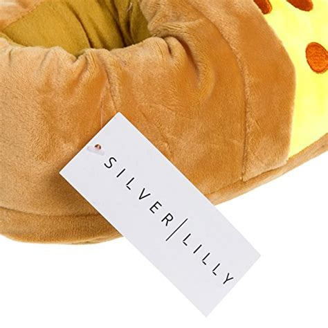 food slippers novelty slippers plush pizza slice food slippers by silver