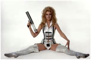 Barbarella called she wants her outfit back jane fonda inadvertently