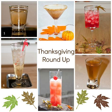 thanksgiving round up a year of cocktails