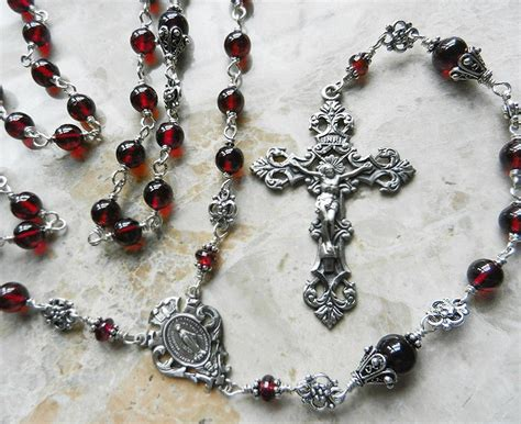best rosary 9 best images about heirloom rosaries rosary bracelets on