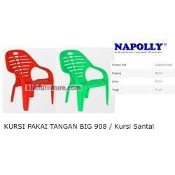 Kursi Plastik Napolly Big 908 A big 908 napolly kursi tangan santai plastik harga promosi