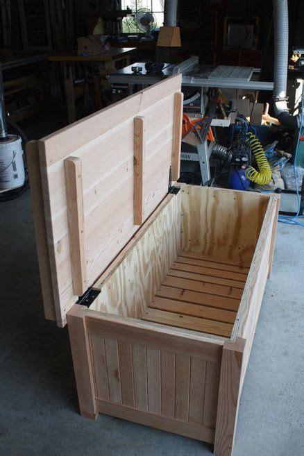 storage bench diy storage bench diy