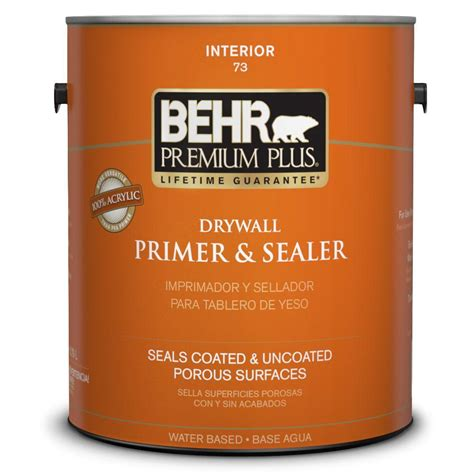 behr premium plus 1 gal drywall primer and sealer 07301