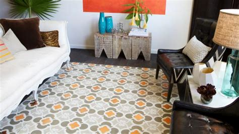 caring for painted floors how to stencil a faux rug on hardwood floors how tos diy