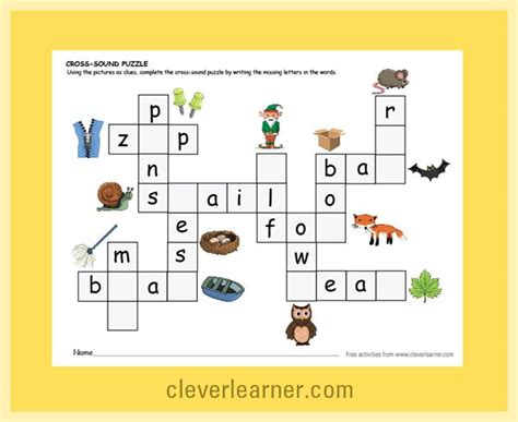 College Letter Earners Crossword 11 best count the items which is more which is less