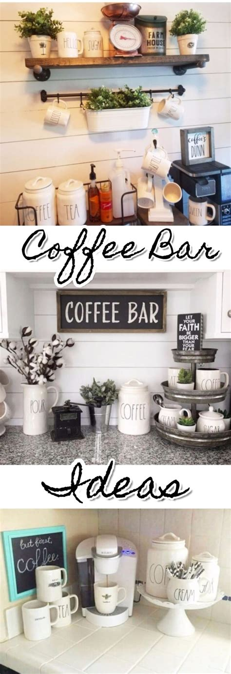 claire crisp diy small kitchen organizing ideas diy coffee bar ideas stunning farmhouse style beverage