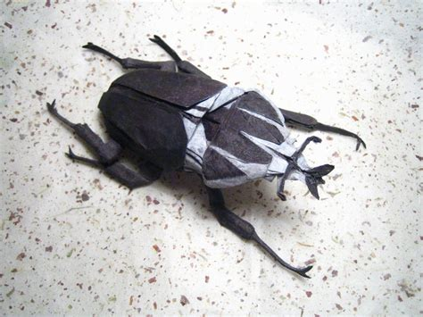 Origami Beetle - dragonfly 2