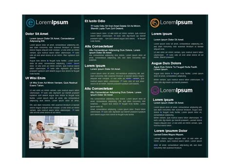 free word brochure templates 31 free brochure templates word pdf template lab