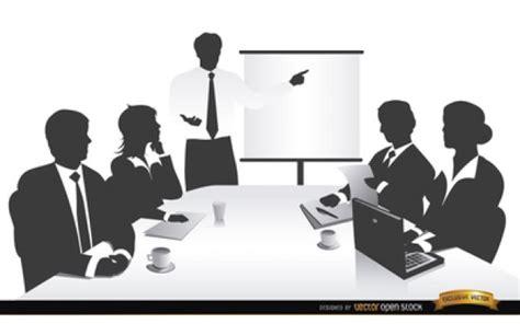 imagenes gratis gente trabajando gente de negocios trabajando siluetas vector descargar