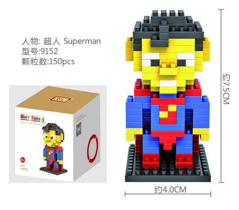 Dijamin Lego Mini Loz Block Superman 100 original loz figure na end 8 17 2015 1 15 am
