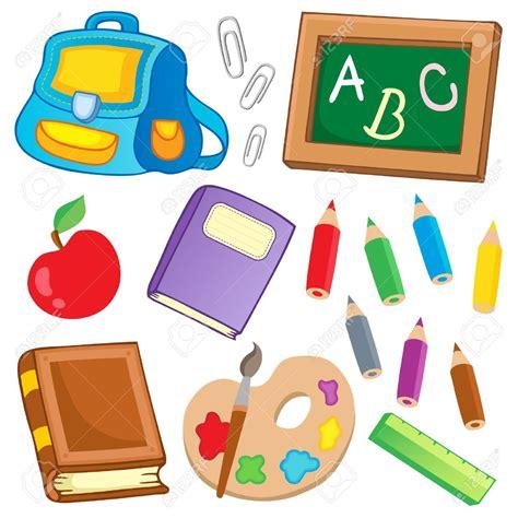 imagenes de utiles escolares de niñas clipart escolares