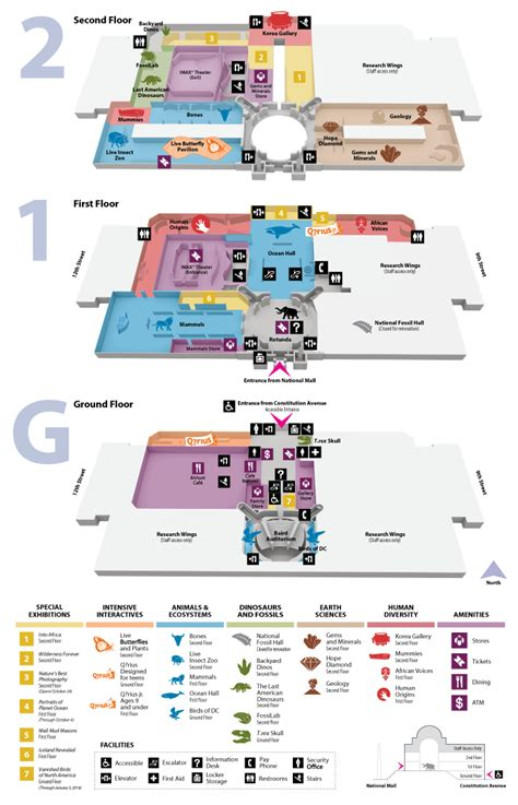 Natural History Museum Floor Plan | national museum of natural history floor plan