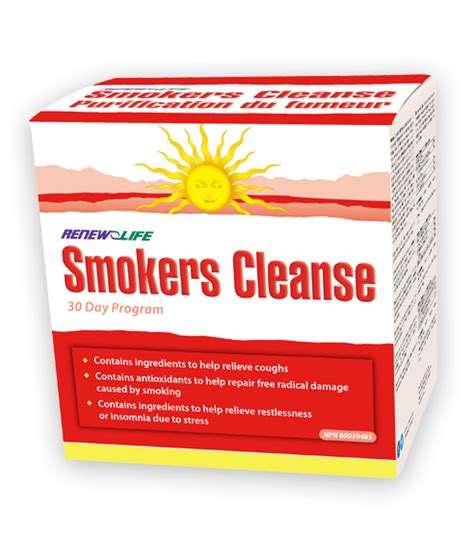 Best Detox For Smokers smokers cleanse cleansing renew canada