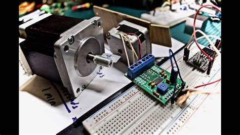 arduino code drv8825 stepper motor drivers with arduino code drv8825 youtube