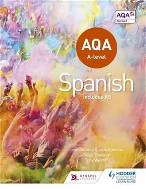aqa spanish a2 grammar workbook aqa a2 libro de texto descargar ahora aqa a level spanish includes as tony weston 9781471858093