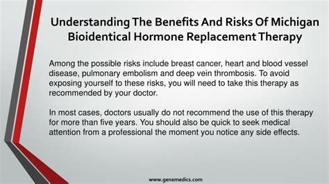 hormone replacement therapy hrt bhrt bioidentical ppt understanding the benefits and risks of michigan