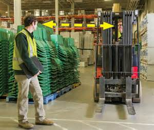 Standing Forklift by Sharing The Workplace With Industrial Lift Trucks