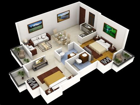 home plan design 3d 3d small home floor plans smallhome houseplan this