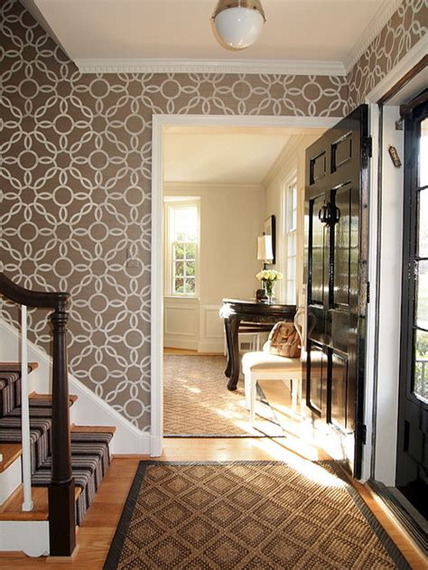 wallpaper design hallway 8 hallway design ideas that will brighten your space