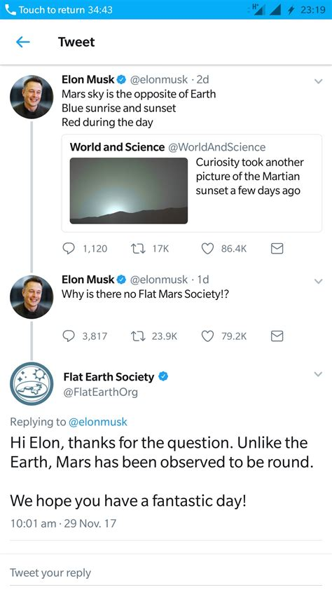 elon musk flat earth society beheading boredom page 6 keep yourself entertained