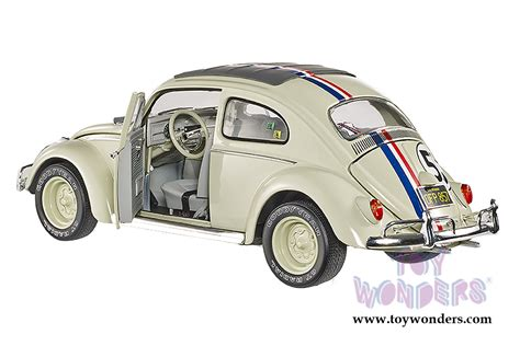 Wheels Elite 1 18 Scale Herbie From Herbie Goes To Monte Carlo V herbie goes to montecarlo volkswagen 53 by mattel wheels elite the bug 1 18 scale