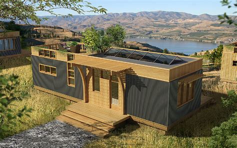 sustainable living house plans greenpod prefab homes modernprefabs
