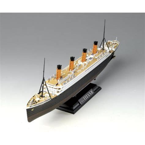 titanic toy boat micro titanic toy ship boat model rms powered atlantis