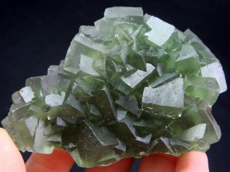 Green Brazil Fluorite in the parowan bank vault