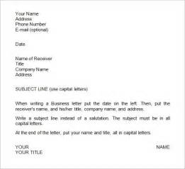 business letter layout in word business letter layout exle best template collection
